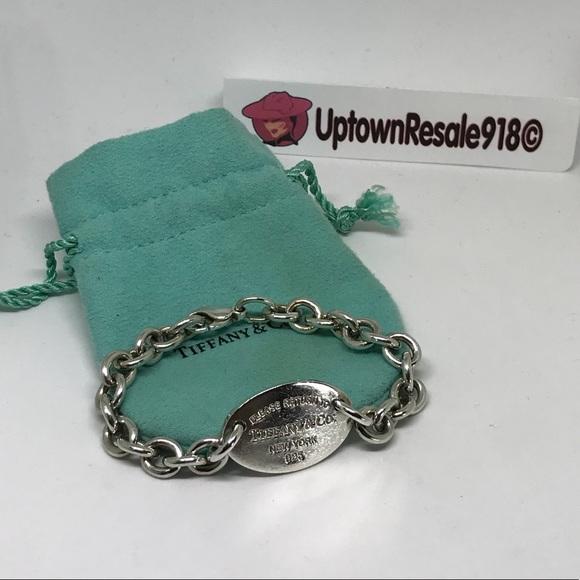 b1b15a0b1 Tiffany & Co. Jewelry | Tiffany Co Return To Tiffanys Oval Bracelet ...